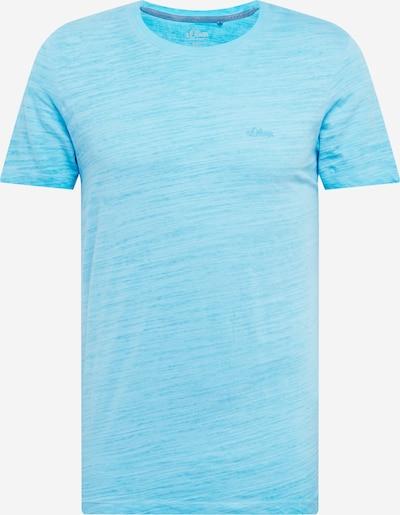 s.Oliver Shirt in himmelblau / hellblau, Produktansicht