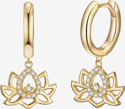 Rafaela Donata Creolen in gold: Frontalansicht