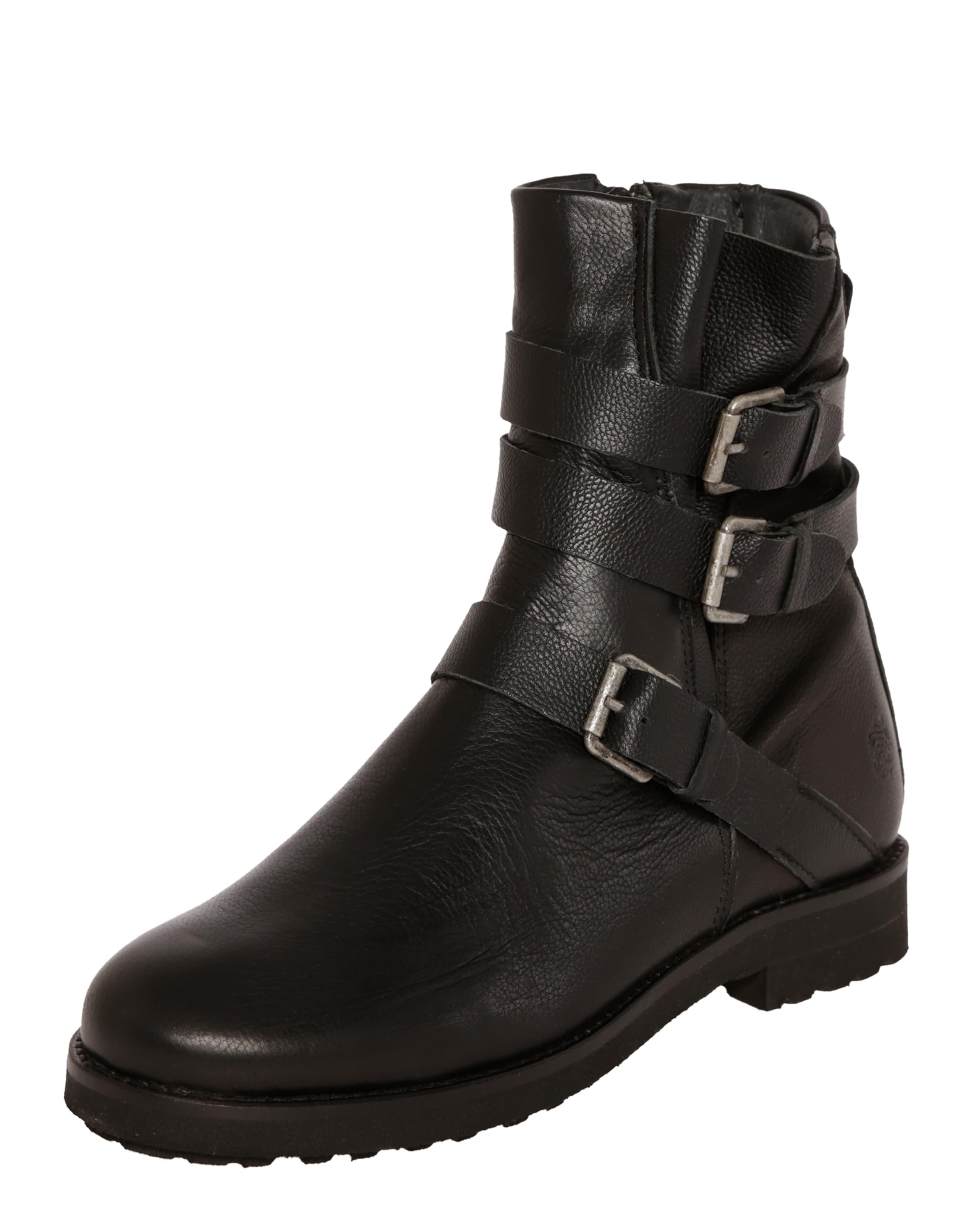 Apple Of Eden Leder-Boots 'Alanis' schwarz qfmQc