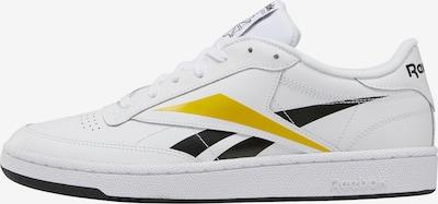 Reebok Classic Sneaker in gelb / schwarz / weiß, Produktansicht