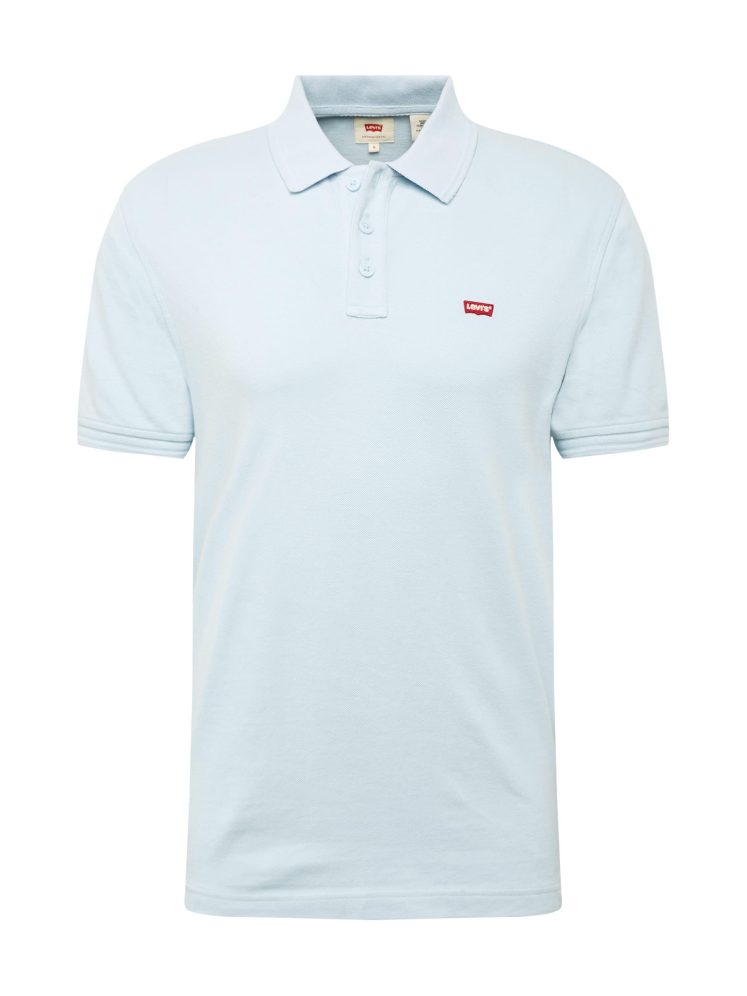 Bleu 'housemark' Levi's shirt ClairRouge T En ikZuOPX