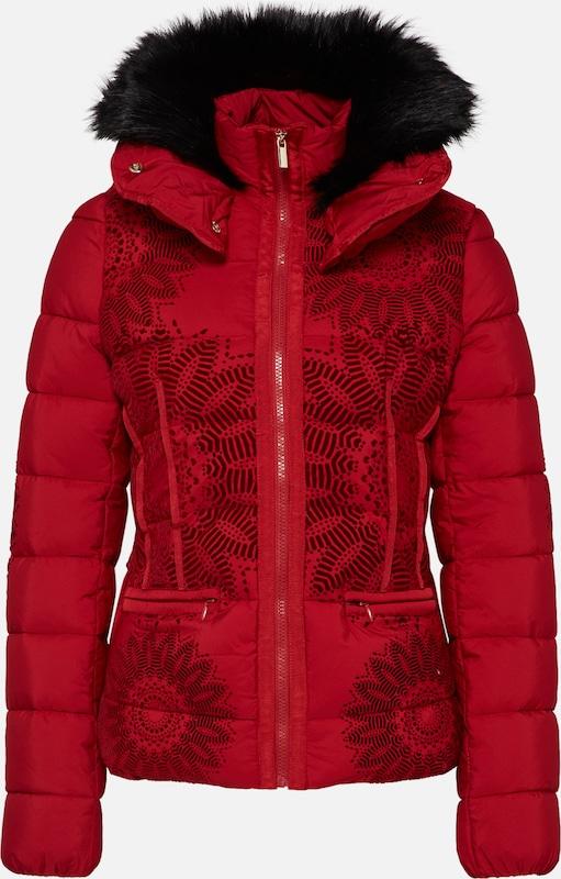 komoderi' Rouge Veste 'padded En D'hiver Desigual j4Aq5R3L