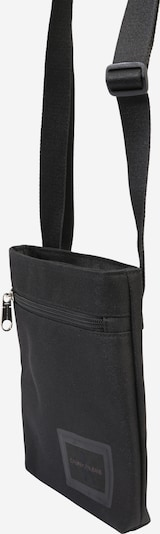 Calvin Klein Jeans Torba za čez ramo 'ESSENTIALS MICROFLATPK' | črna barva, Prikaz izdelka