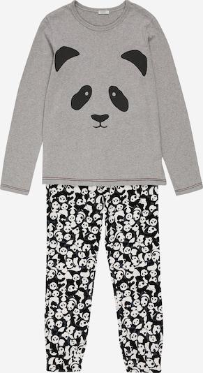 Miego kostiumas iš UNITED COLORS OF BENETTON , spalva - pilka / juoda / balta, Prekių apžvalga