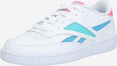 Reebok Classic Sneaker 'CLUB C REVENGE MARK' in blau / grün / weiß, Produktansicht