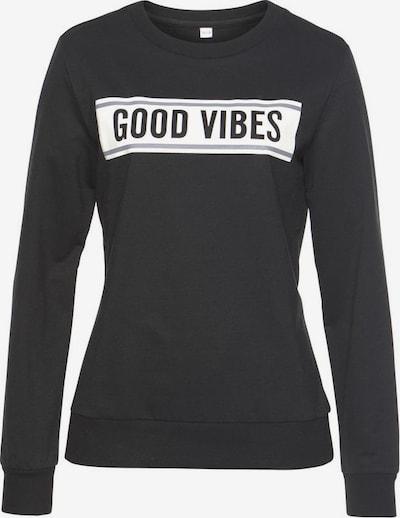 s.Oliver Bodywear Sweatshirt in schwarz, Produktansicht