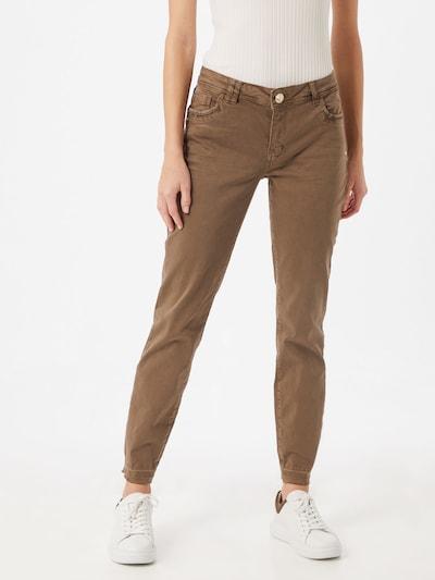 MOS MOSH Jeans 'Sumner Jewel' in dunkelbraun, Modelansicht