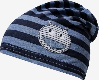 DÖLL Mütze in rauchblau / dunkelblau / weiß, Produktansicht