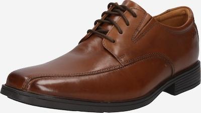 CLARKS Chaussure à lacets 'Tilden Walk' en marron, Vue avec produit