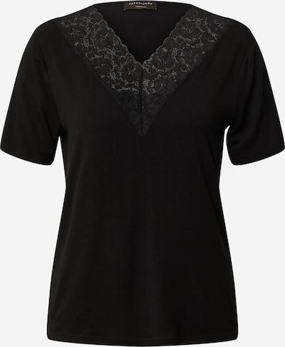 rosemunde T-shirt en noir, Vue avec produit