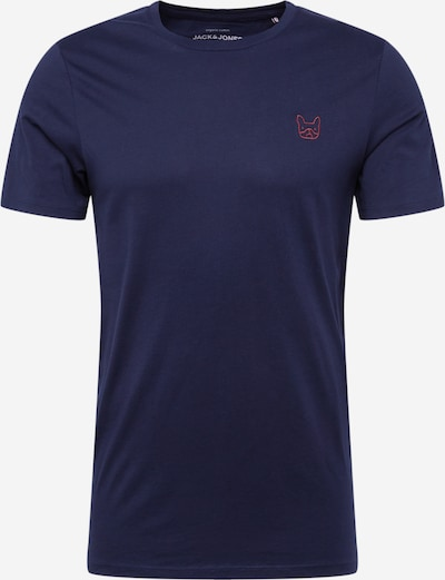 JACK & JONES T-Shirt en bleu marine, Vue avec produit