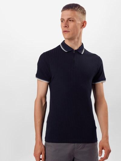 BURTON MENSWEAR LONDON T-Shirt en bleu marine: Vue de face