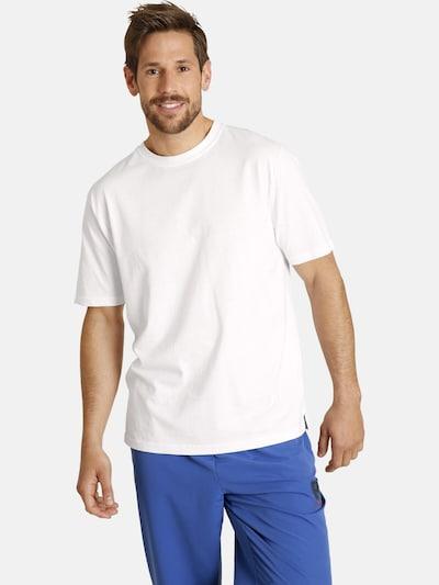 Jan Vanderstorm T-Shirt 'Erke' en blanc: Vue de face