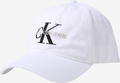 Kepurė 'MONOGRAM' iš Calvin Klein Jeans , spalva - balta, Prekių apžvalga