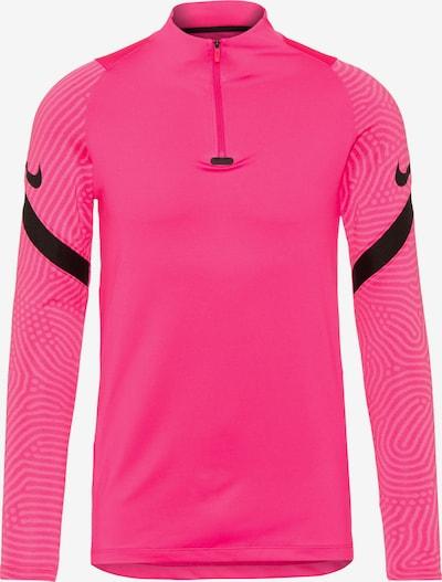 NIKE Funkcionalna majica 'Strike' | neonsko roza / črna barva, Prikaz izdelka