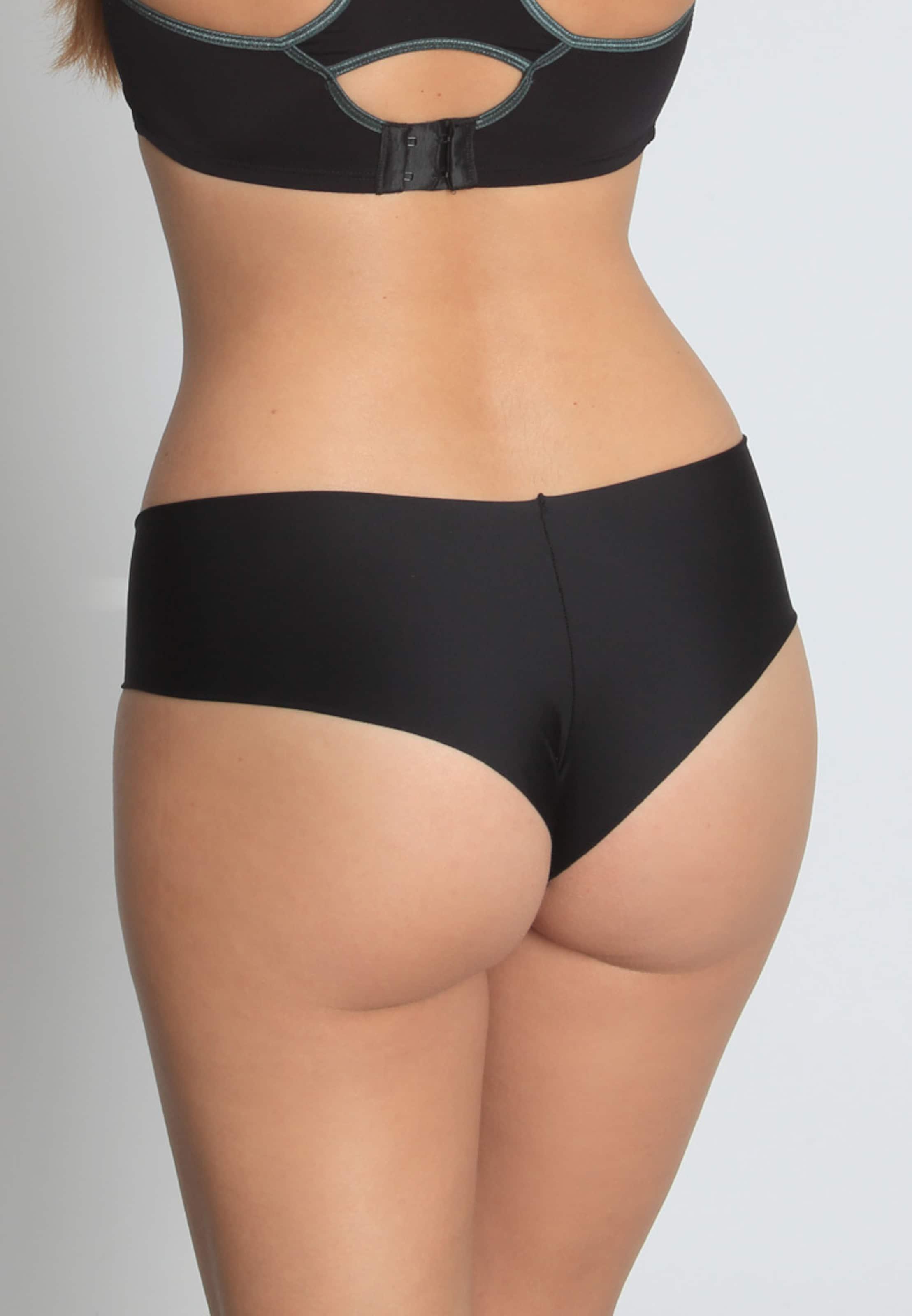 sassa Pant Seamless 'LASER-CUT-PANT' in schwarz