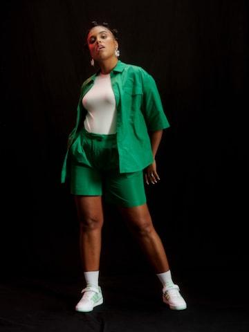 Green Matching Set Look