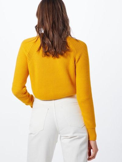 Megztinis 'VALENTINA' iš Noisy may , spalva - aukso geltonumo spalva: Vaizdas iš galinės pusės
