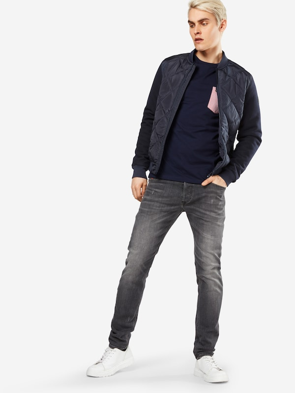 Lyle & Scott T-Shirt 'Stripe Pocket'