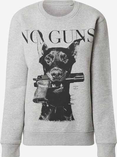 Felpa 'Gun Dog' EINSTEIN & NEWTON di colore grigio sfumato / nero, Visualizzazione prodotti