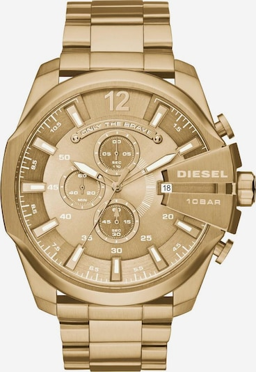 DIESEL Chronograph 'MEGA CHIEF' in gold, Produktansicht