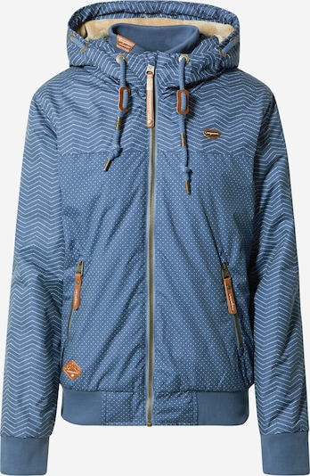 Ragwear Jacke 'Nuggie' in blau / weiß, Produktansicht