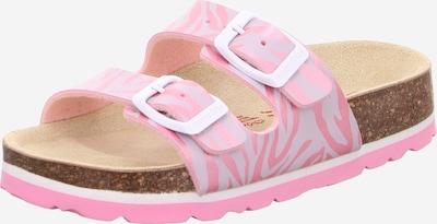 Sandalai iš SUPERFIT , spalva - rausvai violetinė spalva / rožių spalva, Prekių apžvalga