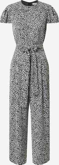 MICHAEL Michael Kors Jumpsuit 'Petal' in de kleur Zwart / Wit, Productweergave