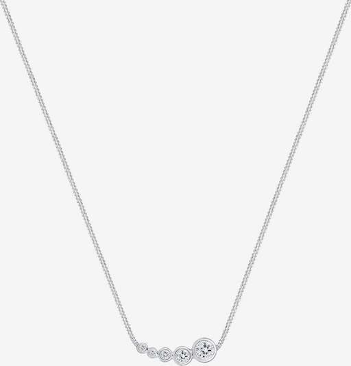 ELLI Ketting in Zilver / Wit aeH5Byuy
