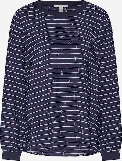 ESPRIT Bluzka 'Blouse-06' w kolorze granatowy / białym, Podgląd produktu