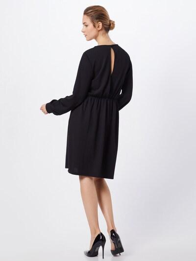 ONLY Jurk 'onlmonna l/s DRESS JRS' in de kleur Zwart: Achteraanzicht