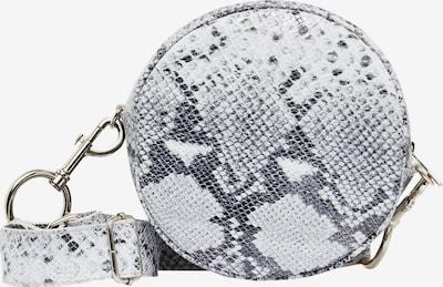 FELIPA Sac à bandoulière en gris / blanc: Vue de face
