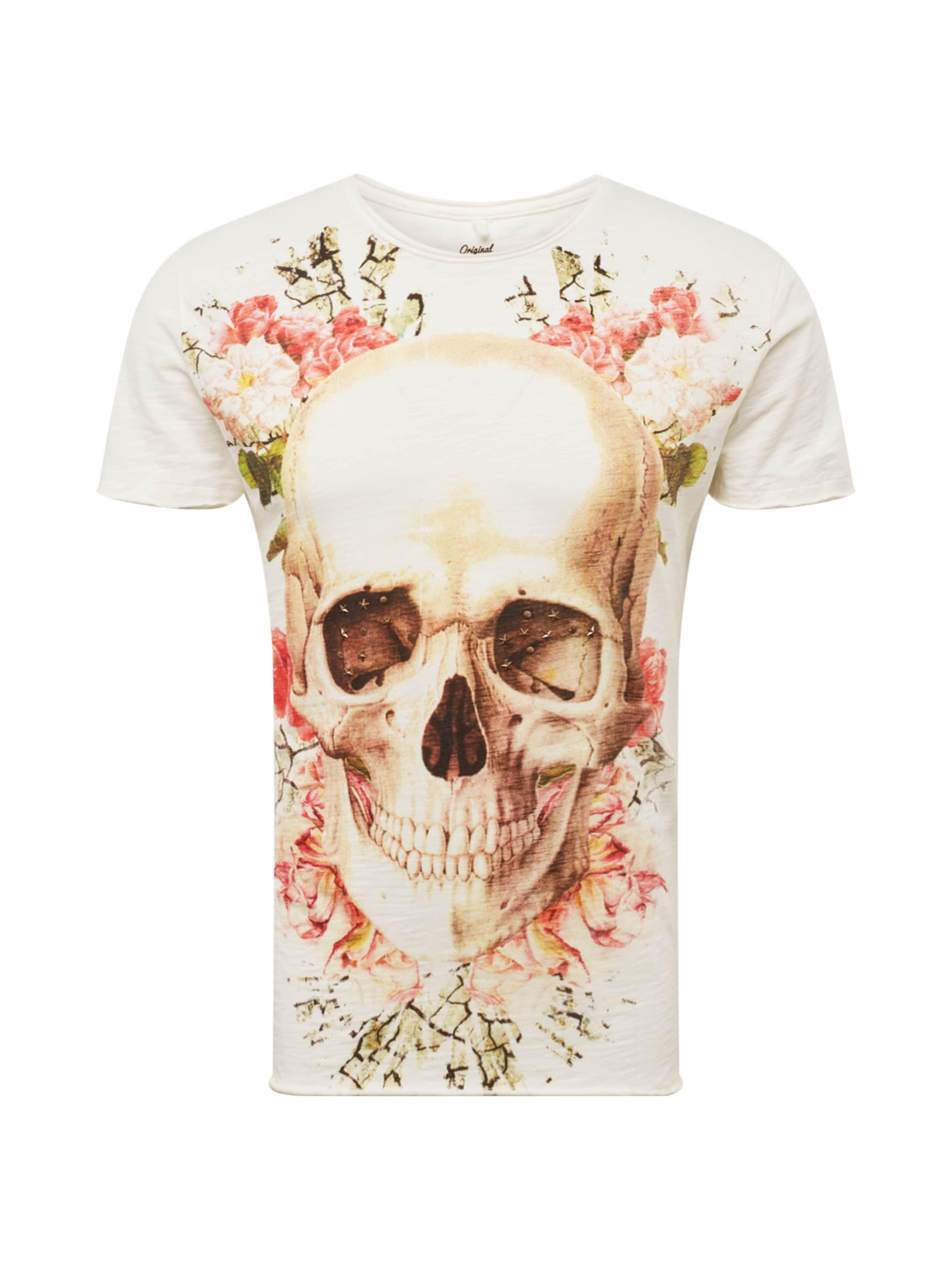 shirt 'bright MischfarbenOffwhite Smile' In T Key Largo IE29WDH