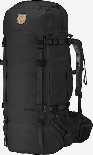 Fjällräven Sportrugzak 'Kajka' in de kleur Zwart, Productweergave