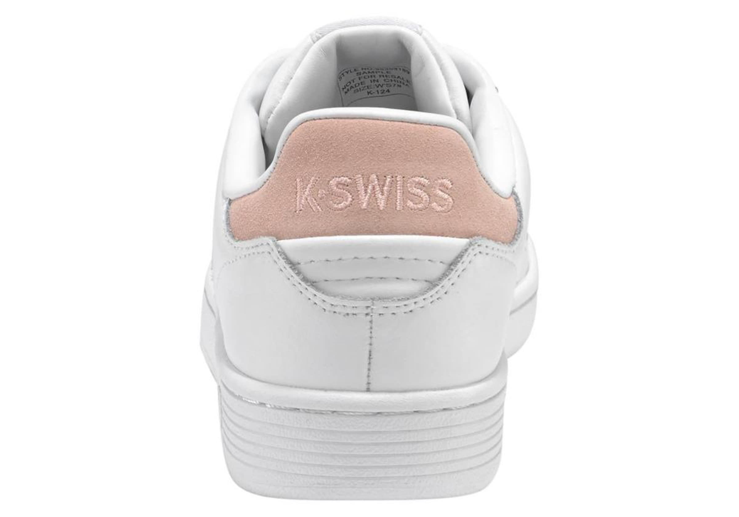 K-SWISS Leder Turnschuhe 'Clean Court CMF Leder K-SWISS Markenrabatt 7ddb6a