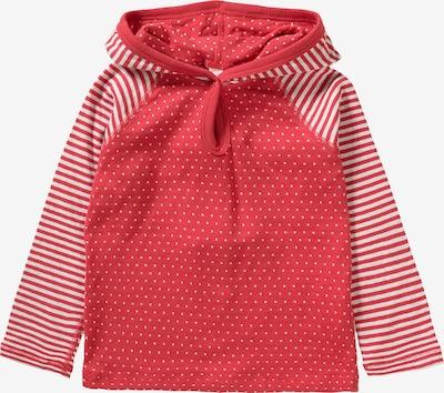 Leela COTTON Langarmshirt in pastellrot / weiß, Produktansicht