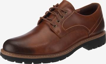 CLARKS Обувки с връзки 'Batcombe Hall' в кафяво