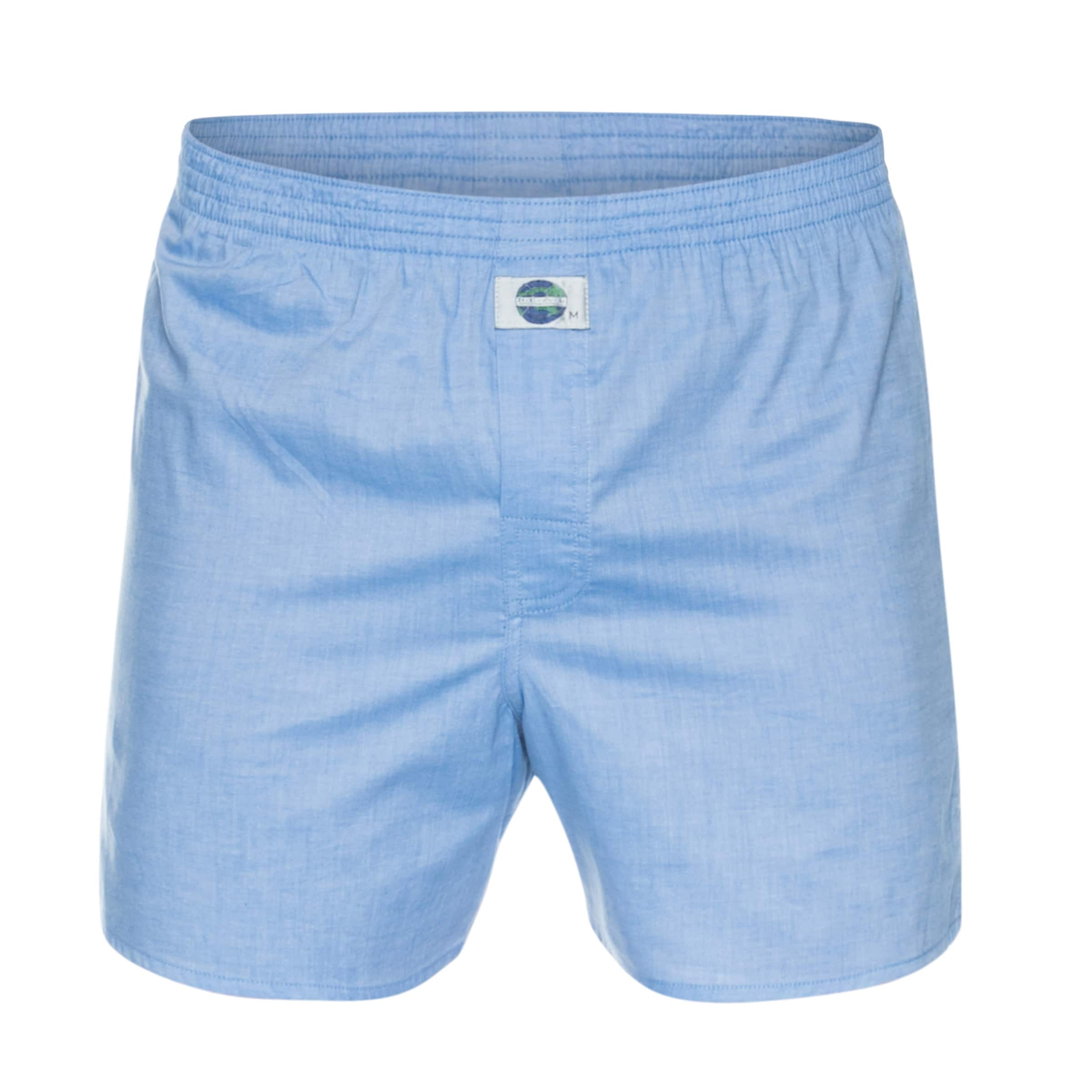 D International 'chambray' Boxershorts In l Hellblau a e zpVSUM