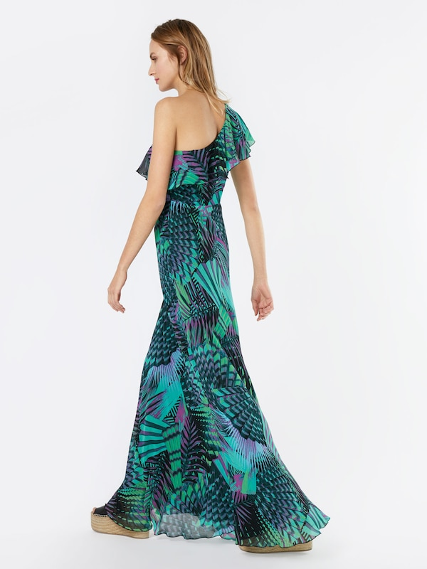'katelyn' En Guess Noir Vert Robe D'été Pétrole At8xqa N8nm0wv