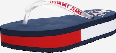 Tommy Jeans Japonki 'FLOUNDER 1R' w kolorze granatowy / czerwonym, Podgląd produktu