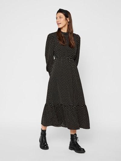 PIECES Kleid in gelb / schwarz, Modelansicht