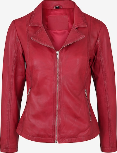 7ELEVEN Lederjacke 'CYNTHIA' in rot, Produktansicht