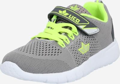 LICO Sneaker 'Suman VS' in zitrone / grau, Produktansicht
