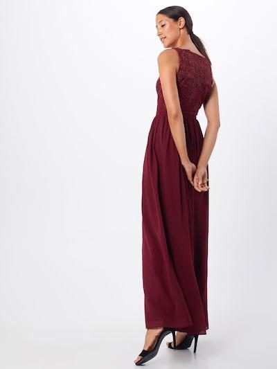 Vakarinė suknelė 'Tiffy' iš Chi Chi London , spalva - vyšninė spalva: Vaizdas iš galinės pusės