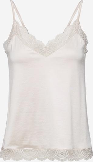 Mey Maillot de corps en blanc perle, Vue avec produit