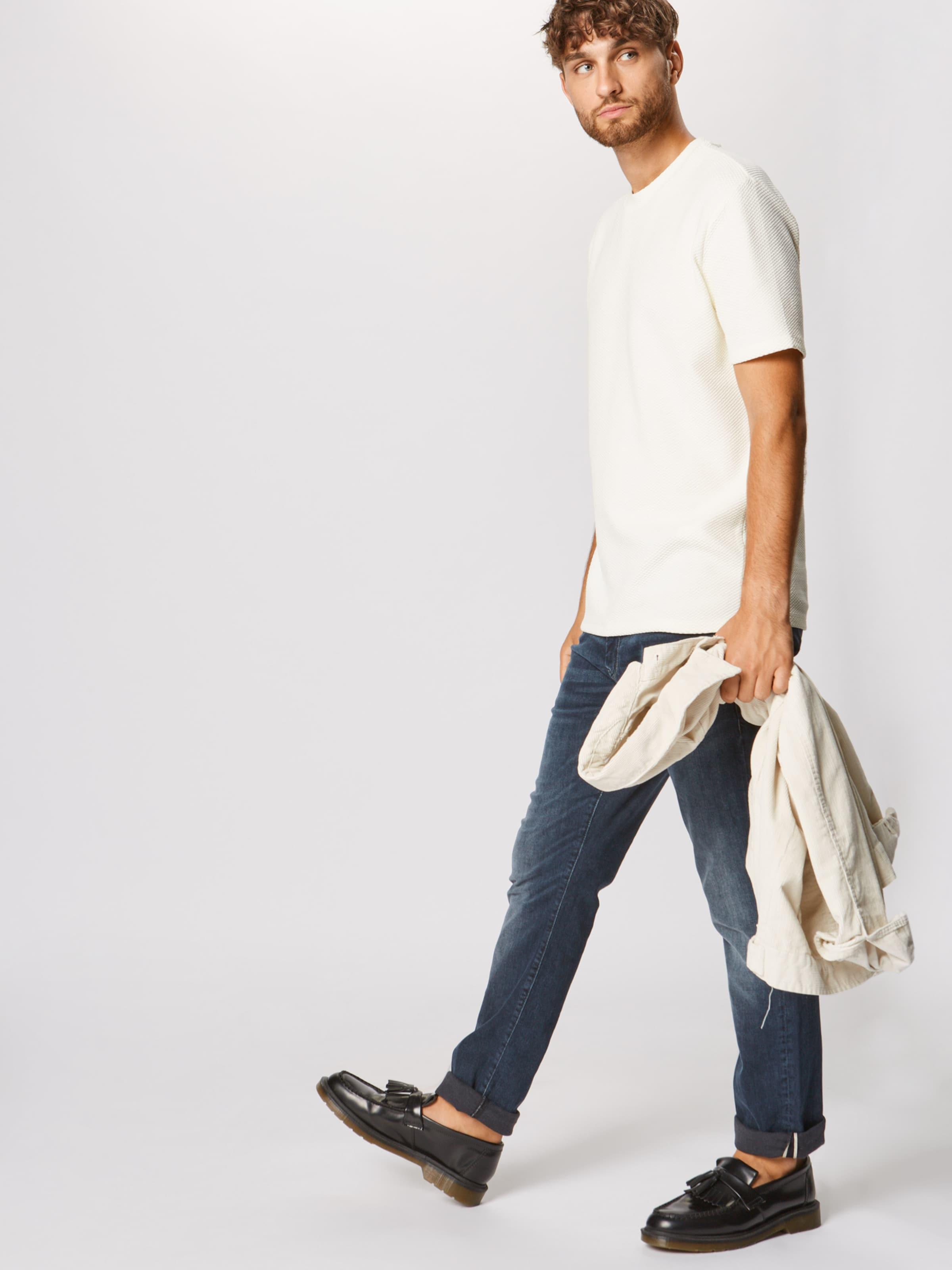Blanc 'dingbo' T Hugo En shirt Naturel 345RLjAcq