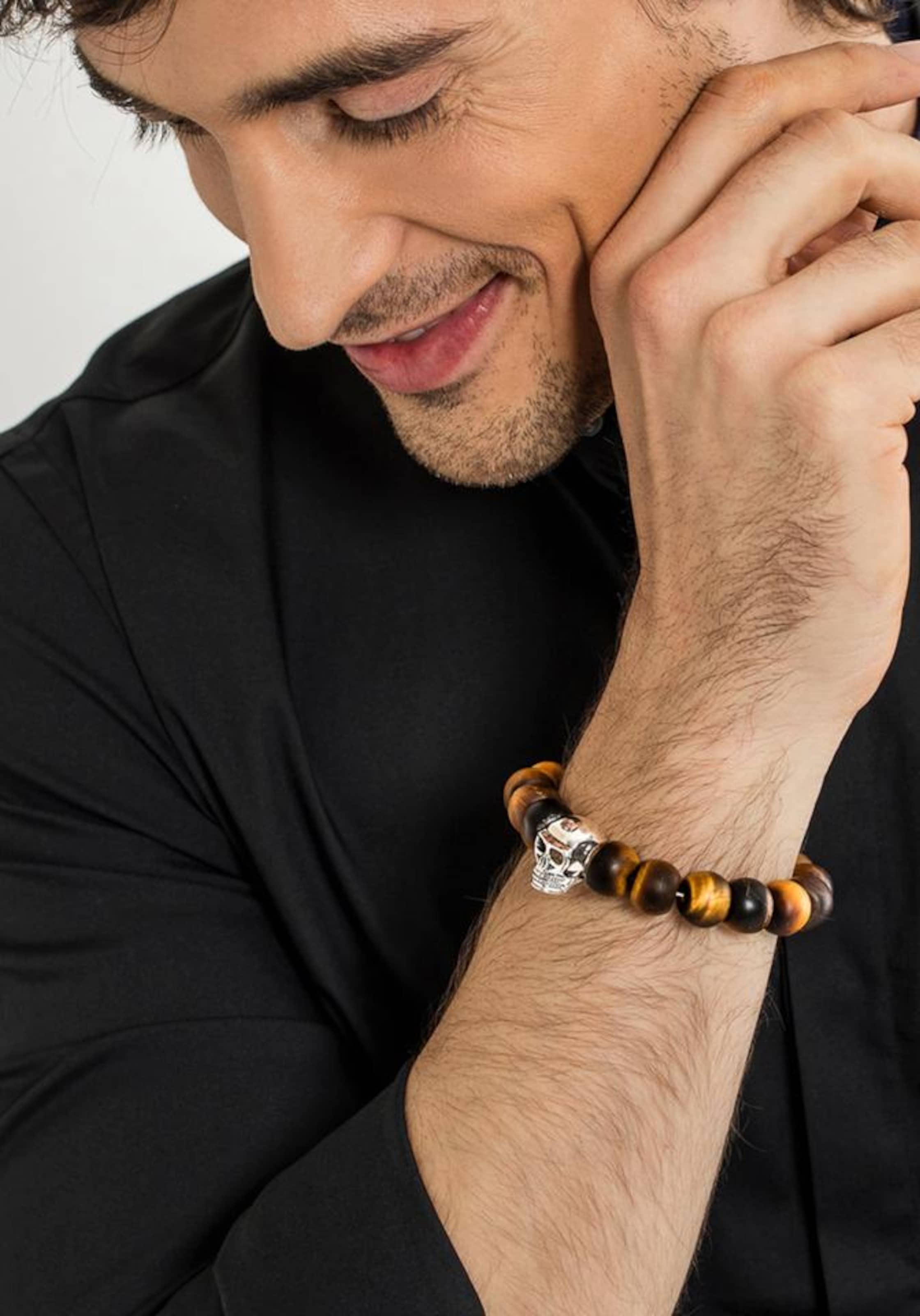 Gutes Angebot Thomas Sabo Armband 'Totenkopf' Verkauf Sneakernews bM0eFr6A