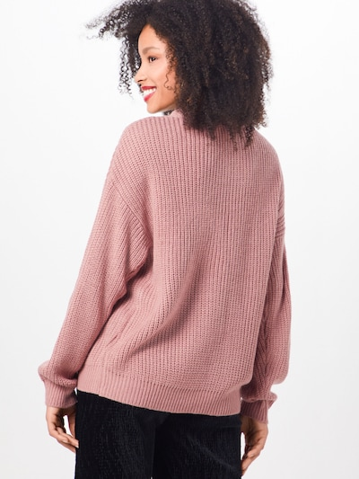 ABOUT YOU Pullover 'Emilia' in rosa: Rückansicht