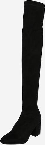 VERO MODA Overknees 'CLARE' i svart