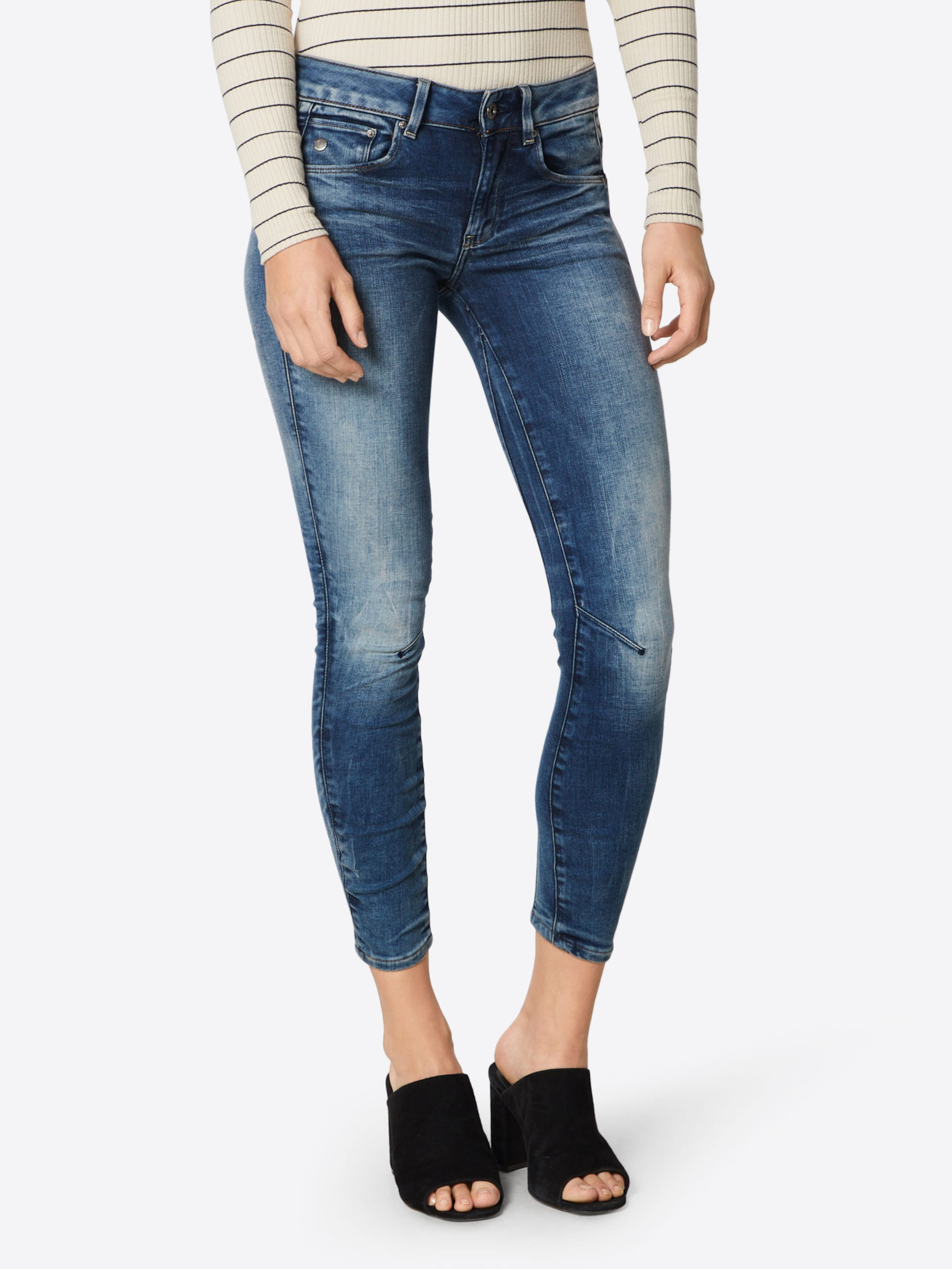 star 'arc 3d' In G Denim Raw Jeans Blauw T1lcFKJ
